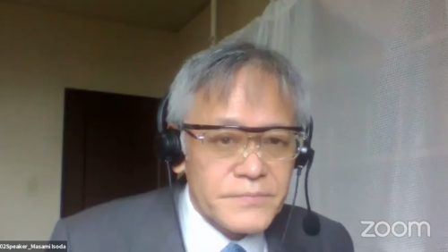 Professor Masami Ichoda, from Japan