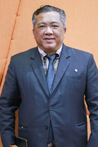 Prof. Monchai Duangchinda, Ph.D., Vice President for Research and Graduate Studies
