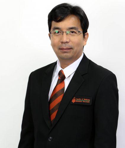 Asst. Prof. Tala Thammaroj, M.D., Vice President for Administration of Khon Kaen University