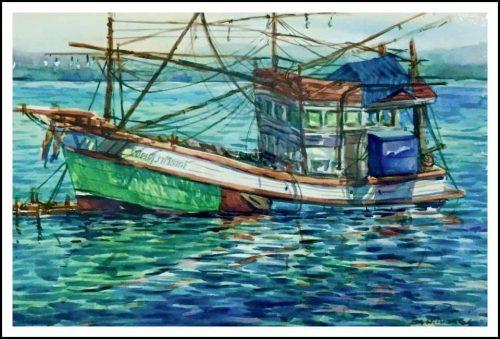 """Khem Khenkhok's watercolor Exhibition"" นิทรรศการเดี่ยวครั้งแรกของเขม เคนโคก"